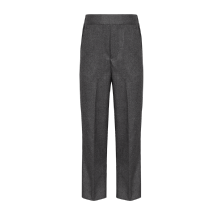 Junior Flat Front Pull Up Trousers